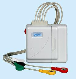 Nadajnik AsPEKT 523 Event PC v.003 Cyfrowy nadajnik sygnału EKG