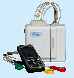 Nadajnik AsPEKT 523 Event SP v.004 Cyfrowy nadajnik sygnału EKG