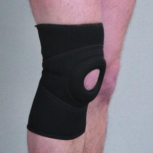 Orteza stawu kolanowego wciągana, bez szyn (neopren perforowany)