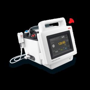 Medyczny analizator parametrów życiowych z opcją pomiaru impedancji bioelektrycznej mVSA 535