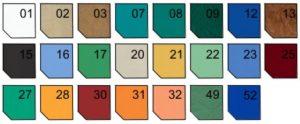 1289814646kolory 300x124 - SM-2 H-Ł Łamany stół do masażu z hydrauliczną zmianą wysokością