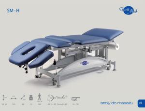 1289818081smh 300x230 - SM-H Stół do masażu z hydrauliczną regulacją wysokości