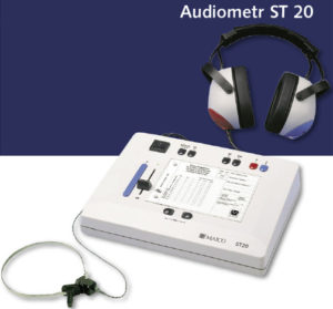 1290120814audiometrst20 300x279 - ST 20-3 Audiometr przesiewowy