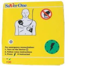 1291626057defibrylator 2 300x215 - SAVER ONE D - Defibrylator AED, dwufazowy, 200J, zasilanie bateryjne SVD-B0004N
