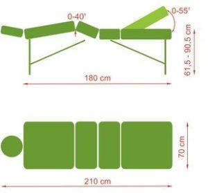 1329723802xena1 300x279 - Xena składany stół do masażu
