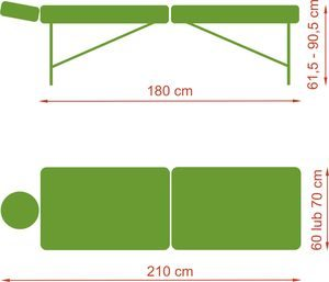 1329729196bello one1 300x257 - Bello One składany stół do masażu