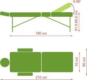 1329732598panda al plus2 300x274 - Panda Al Plus składany stół do masażu