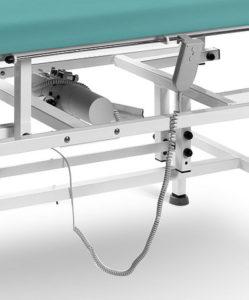 1329822737elektryczna regulacja wysokosci 249x300 - Studio, E, H stacjonarny stół do masażu