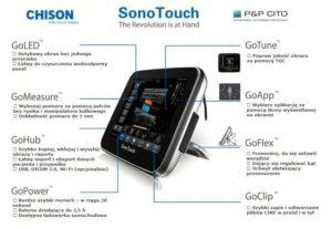 1338968789sonotouch 300x206 - SonoTouch - Przenośny aparat USG