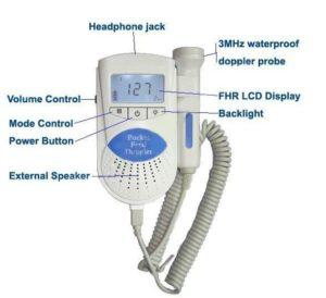 1354048534sbb 300x274 - Detektor tętna płodu Sonoline B