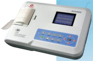 1354049734300g 300x198 - 3 Kanałowy Cyfrowy Elektrokardiograf - CMS 300G