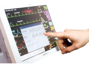 1415957937me touchscreen webzoom 300x234 - Kardiomonitor COMPACT 9