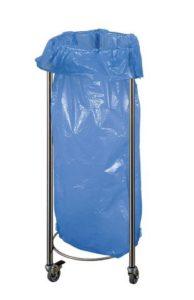 140240630312 194x300 - Pojemnik na odpady z workiem ze stali nierdzewnej INOX