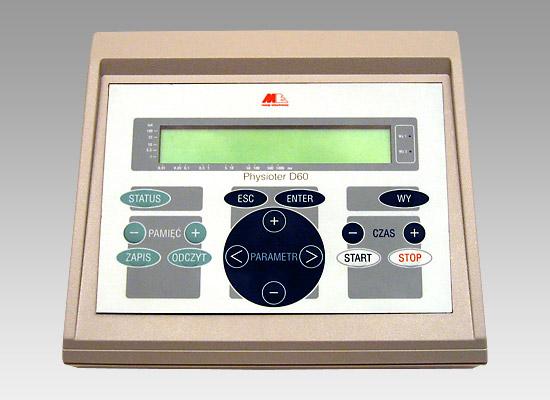 Physioter D60 Dwukanałowy aparat do elektroterapii