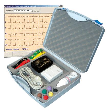 AsCARD MrAmber v.101 Cyfrowy bezprzewodowy elektrokardiograf