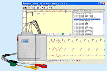 HolCARD EVT Alfa System A722 v.001 Oprogramowanie do zdarzeniowych rejestratorów EKG