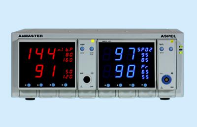 AsMASTER - NIBP/SPO2 v.002 Pulsoksymetr z automatycznym ciśnieniomierzem