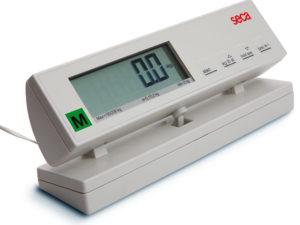 SECA 889 Mobilna waga płaska ze zdalnym wyświetlaczem przewodowym