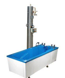 T-MP/K-Sat Wanna medyczna do kąpieli kwasowęglowej z saturatorem