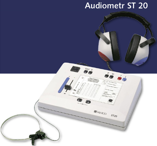 ST 20 BC Audiometr przesiewowy z funkcją przewodnictwa kostnego