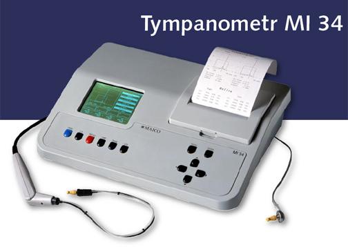 MI 34 Tympanometr