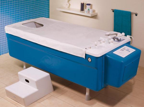 Worishofen UW GI CO2 1800 AC Wanna do masażu podwodnego i kąpieli medycznych