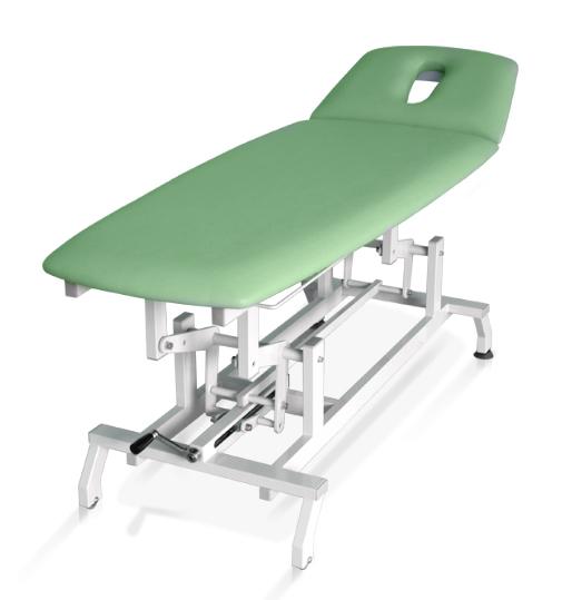 Terapeuta M-H2.F0 Stół do masażu i rehabilitacji - dwusekcyjny