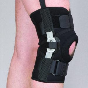 Orteza stawu kolanowego stabilizująca zamknięta (neopren perforowany)