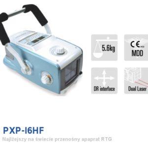 PXP 16 HF Ultralekki przenośny rentgen weterynaryjny