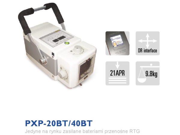 PXP-20BT Zasilany bateryjnie przenośny rentgen weterynaryjny