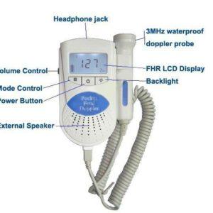Detektor tętna płodu Sonoline B