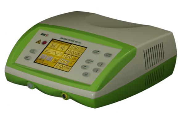 MAGNETRONIC MF-24 dwukanałowy aparat do magnetoterapii i laseroterapii