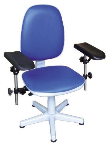 Krzesło do pobierania krwi - nieobrotowe