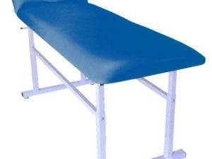 S407 - Stół rehabilitacyjny o skokowej regulacji wysokości bez otworu twarzowego
