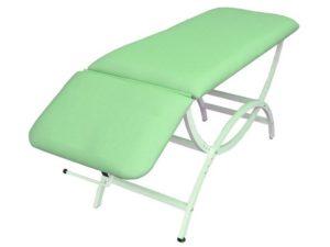 S407 55-65 -Stół rehabilitacyjny o skokowej regulacji wysokości EUREKA bez otworu twarzowego