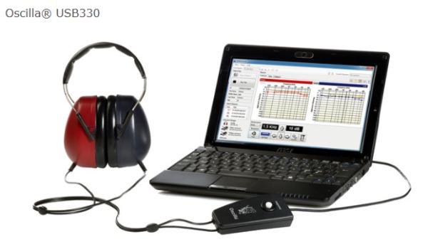 Audiometr przesiewowy Oscilla USB 330