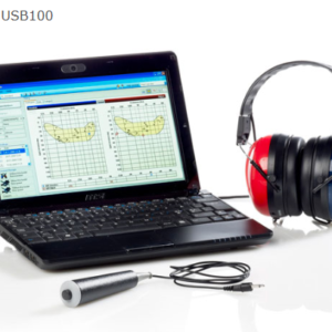 Audiometr przesiewowy Oscilla USB 100