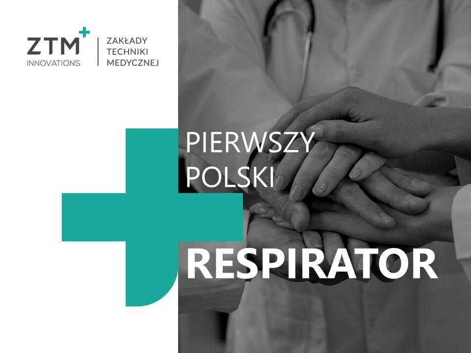 respirator - Pierwszy Polski respirator