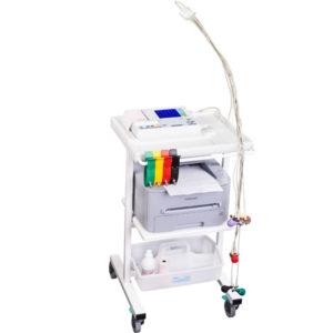Wózek medyczny W30W v.004. Aparaty EKG