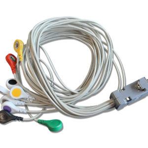 Holtery EKG. Kabel KRH 712 v.200 – zatrzask