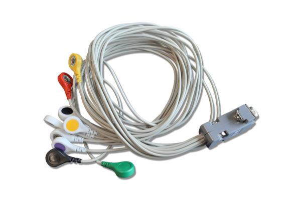 Holtery EKG. Kabel KRH 712 v.200 - zatrzask