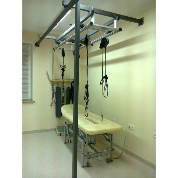 Kinezyterapia. Konstrukcja wolnostojąca lub przyścienna do SLING THERAPY KINESIS