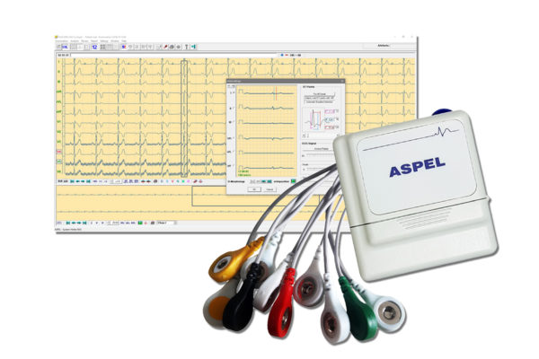 Holtery EKG. HOLCARD 24W Alfa System ASPEKT 712 v.201 (Rejestrator +Oprogramowanie)
