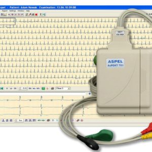 Holetry EKG. HolCARD 24W Alfa System A703 v.201 (Rejestrator +Oprogramowanie)