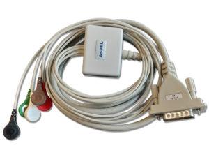 Systemy wysiłkowe. Kabel pacjenta KEKG-52 v.104 do cykloergometru CRG 200
