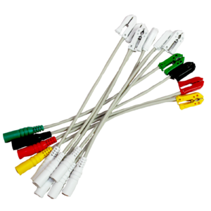 EKG. Medical-econet adaptery do samoprzylepnych elektrod.
