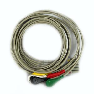 Kardiologia i spirometria. Medical-econet 5-przewodowy kabel dla Compact 5.