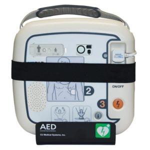 Ratownictwo medyczne. Medical-econet uchwyt ścienny AED.