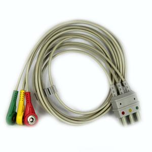 Kardiologia i spirometria. Medical-econet 3-przewodowy kabel dla Compact 5.