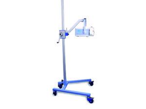 Radiologia. Medical-econet stojak mobilny PXMS-1800.